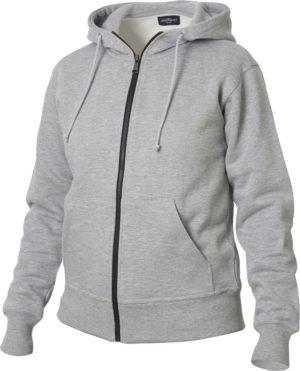 Elmore Grijsmelange van Clique - Categorie Sweatshirt