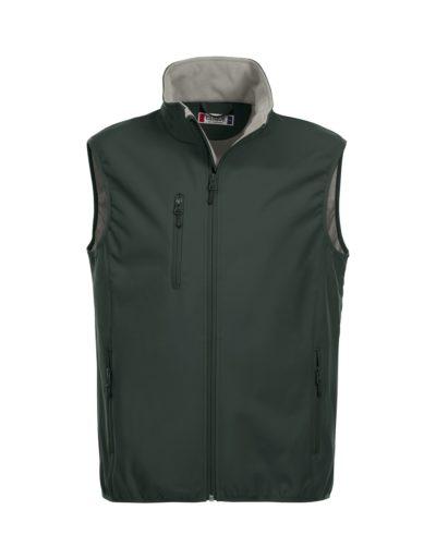 Basic Softshell Hr Bodywarmer Antraciet van Clique - Categorie Vests