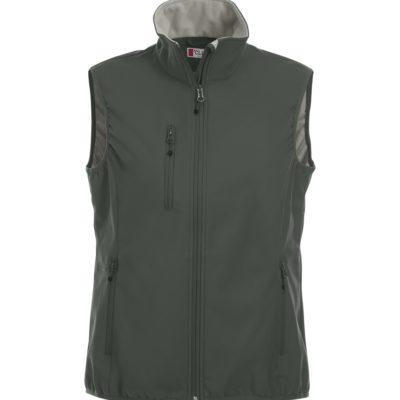 Basic Softshell Ds Bodywarmer Antraciet van Clique - Categorie Vests