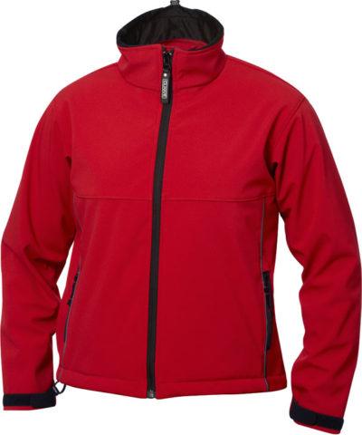 Softshell Kids Intense Red van Clique - Categorie Jackets
