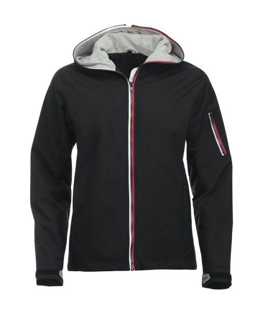 Seabrook Ladies Zwart van Clique - Categorie Jackets