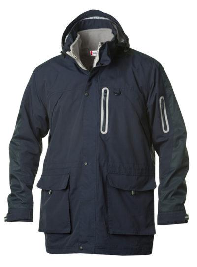 Leland Dark Navy van Clique - Categorie Jackets