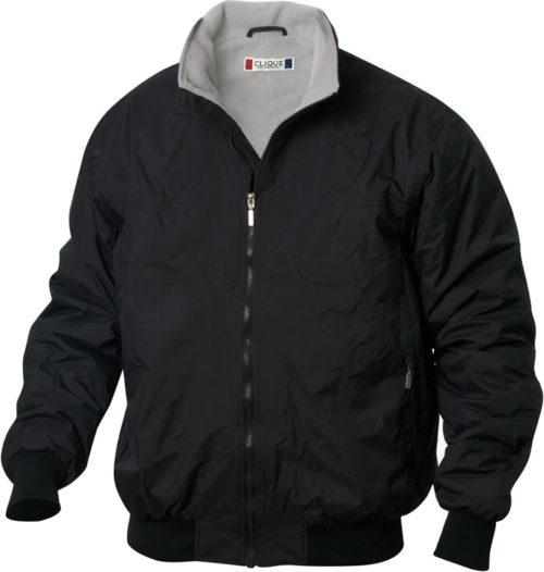 Orwell Zwart van Clique - Categorie Jackets