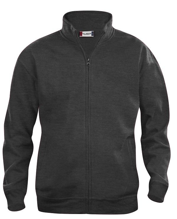 Basic cardigan jr Antraciet Mélange van Clique - Categorie Sweatshirts