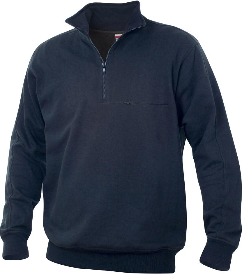 Cadiz Dark Navy van Clique - Categorie Sweatshirt