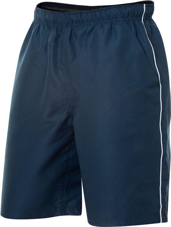 Hollis Navy/Wit van Clique - Categorie Shorts