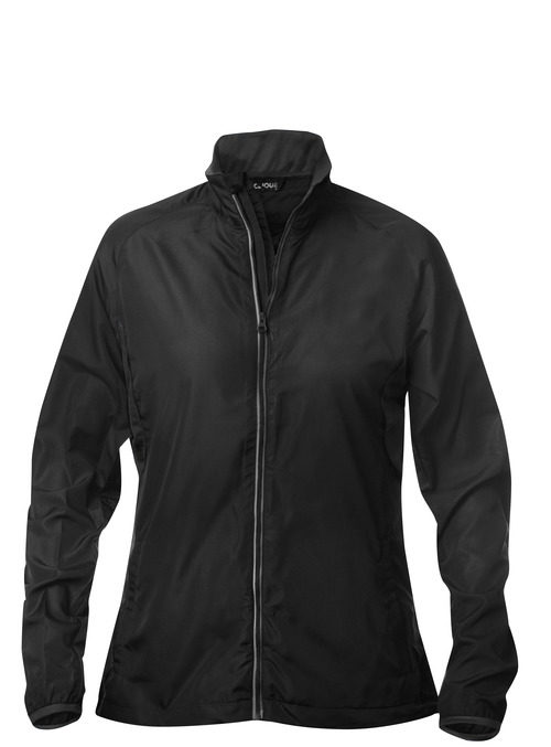 Active Wind Jacket Ladies Zwart van Clique - Categorie Jackets