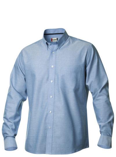 New Oxford Kobalt van Clique - Categorie Shirts