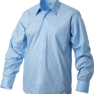 Samson L/S Lichtblauw van Clique - Categorie Shirts