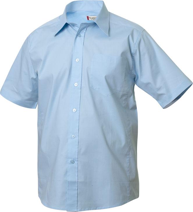 Samson S/S Lichtblauw van Clique - Categorie Shirts