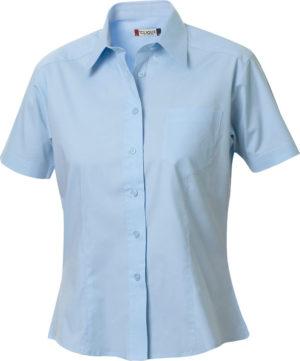 Rutland S/S Lichtblauw van Clique - Categorie Shirts
