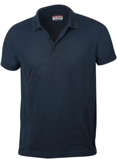 Ice Polo Dark Navy van Clique - Categorie Polo