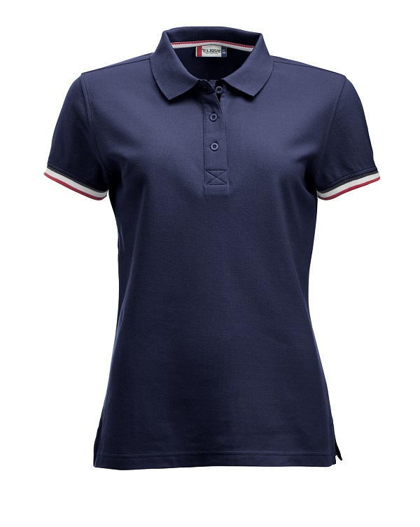 Newton Ladies Dark Navy van Clique - Categorie Polo