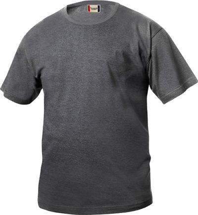 Basic-T Antraciet Mel. van Clique - Categorie T-shirts