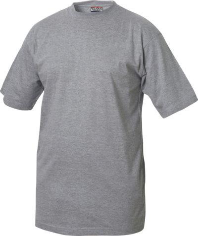Classic-T Grijsmelange van Clique - Categorie T-shirts