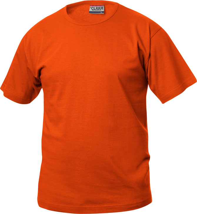 Fashion-T Diep-Oranje van Clique - Categorie T-shirts