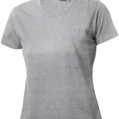 Fashion-T Ladies Grijsmelange van Clique - Categorie T-shirts