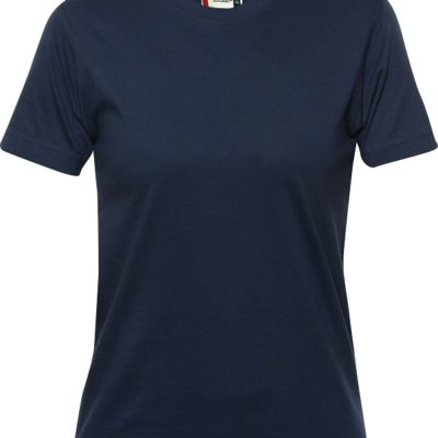 Premium-T Ladies Dark Navy van Clique - Categorie T-shirts