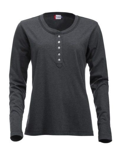 Orlando ds T-shirt Antraciet Mélange van Clique - Categorie T-Shirts
