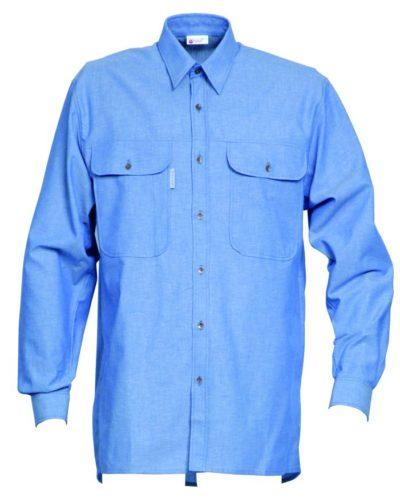HaVeP Workwear/Protective wear Hemd lange mouw 1624