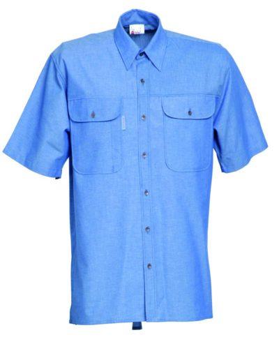 HaVeP Workwear/Protective wear Hemd korte mouw 1626
