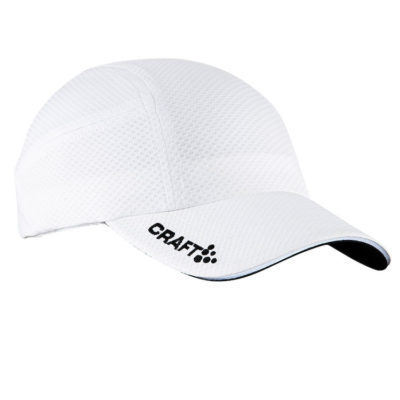 Craft Running Cap white white