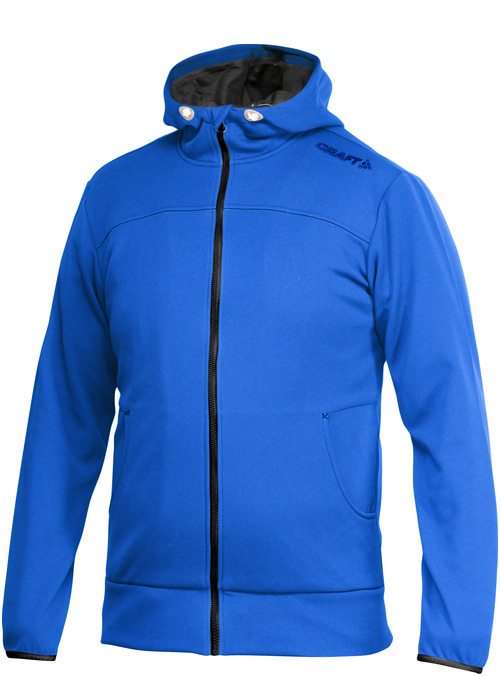 Craft Leisure Full Zip Hood Men swe. blue 4XL swe. blue