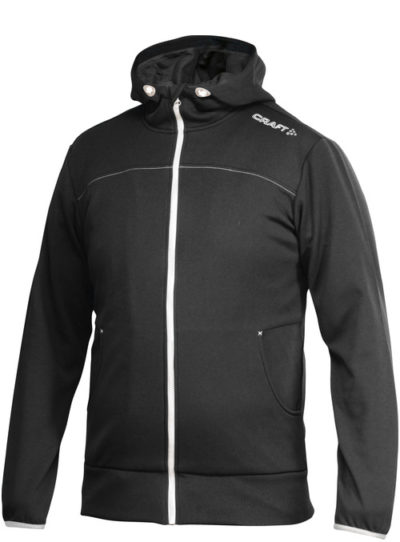 Craft Leisure Full Zip Hood Women black XXL black