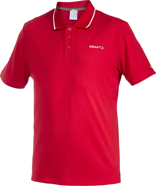 Craft In-The-Zone Piqué Men bright red 3xl bright red