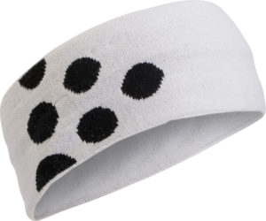 Craft Light 6 Dots Headband white l/xl white
