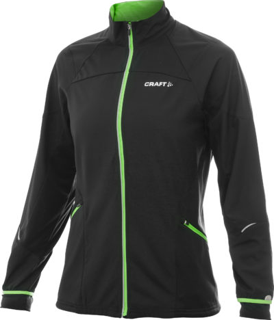 Craft Dedication Jacket women black/green m Craft green