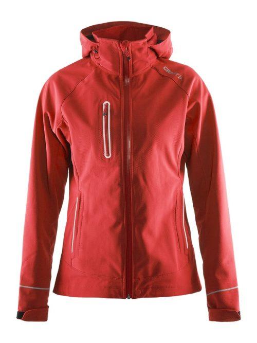 Craft Cortina Softshell Jacket women bright red xxl bright red