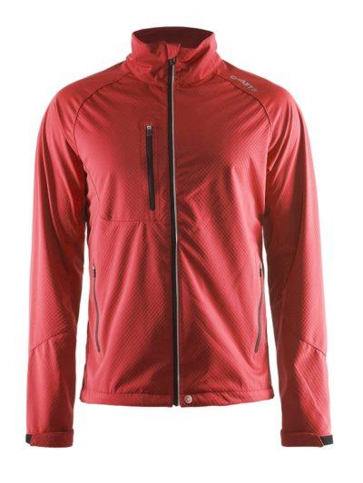 Craft Bormio Softshell Jacket men bright red 4xl bright red