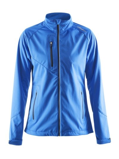 Craft Bormio Softshell Jacket women Swe. bleu xxl Swe. Bleu
