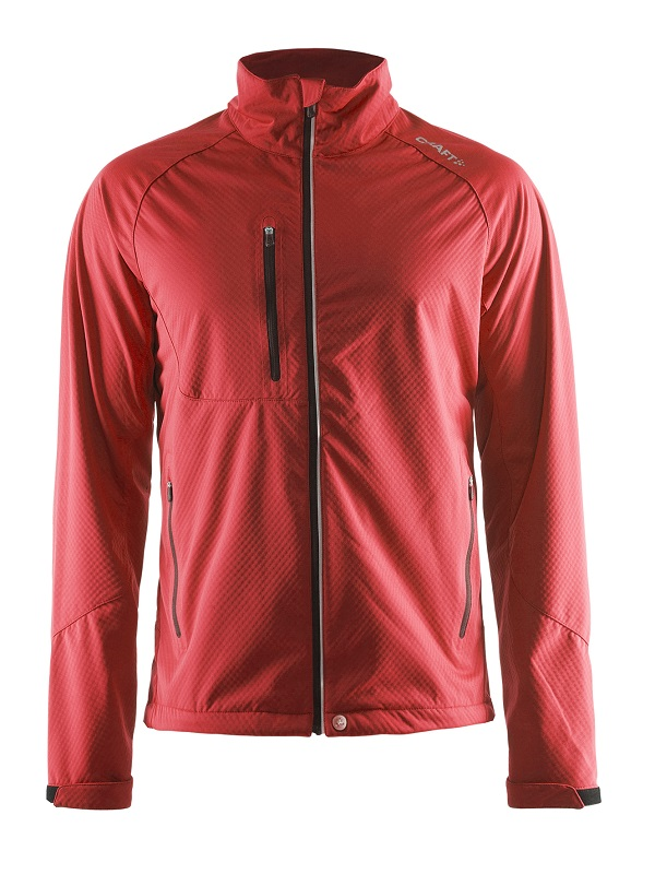 Craft Bormio Softshell Jacket women bright red xxl bright red