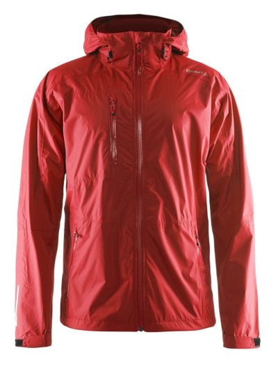 Craft Aqua Rain Jacket men bright red 4xl bright red