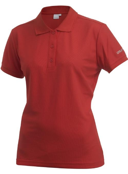 Craft Polo Shirt Pique Classic Women bright red 44 bright red