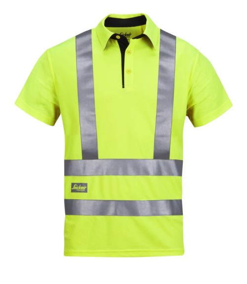 Snickers A.V.S. Polo Shirt High Visibility