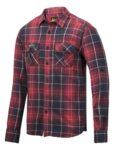 Snickers Checked Shirt Secundaire kleur