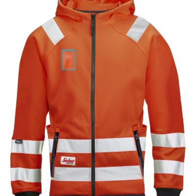 Snickers Micro Fleece Jack High Visibility