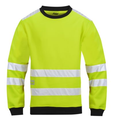 Snickers Micro Fleece Sweater High visibility