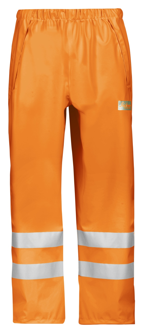Snickers Regenbroek PU High Visibility