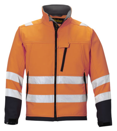 Snickers Soft Shell Jack High Visibility