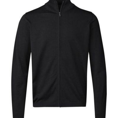 Clipper Duplex men's zip-cardigan Black