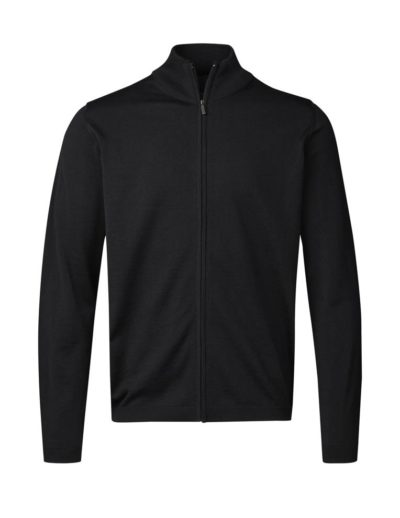 Clipper Duplex men's zip-cardigan Black