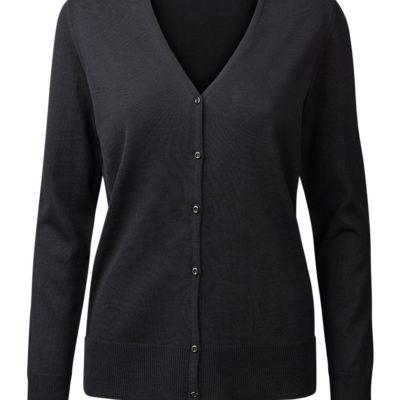 Clipper Duplex women's cardigan Black
