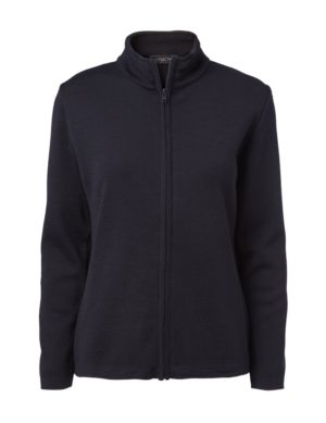 Clipper women's zip cardigan Navy