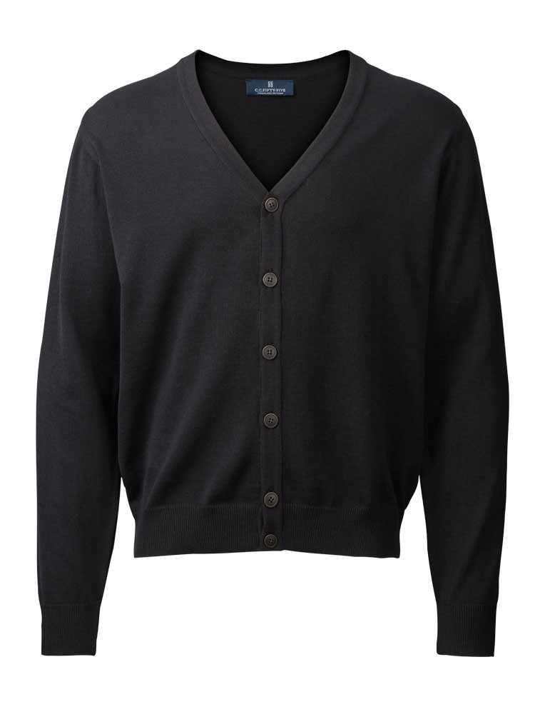 Clipper Men's cardigan Black