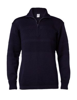 Clipper SAILOR men's zip-neck pullover Navy