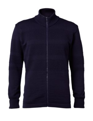 Clipper SAILOR men's zip-cardigan Navy